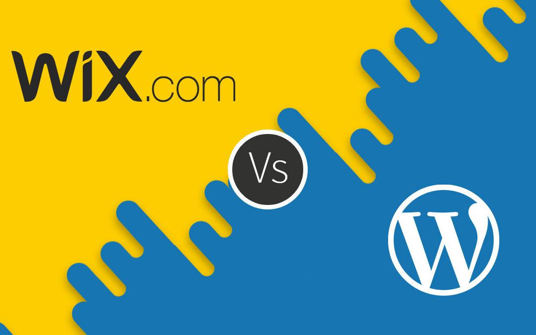 wix wordpress
