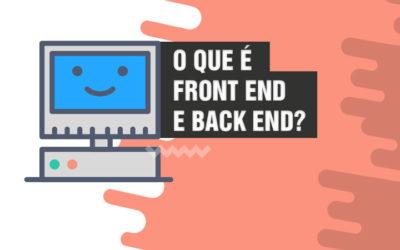 O que é front end e back end? 🗾