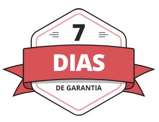 7 dias garantia